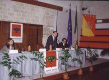 """Convegno programmatico sull'attività dell'Associazione """"Uomo e Società""""-Palazzo dei Normanni (1.12.2000)"""
