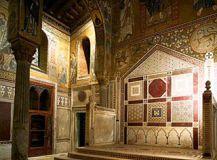 Cappella Palatina – il Trono (Palazzo Reale di Palermo)